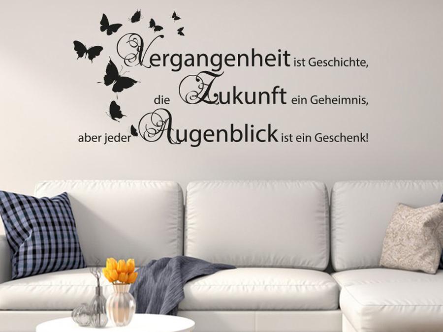 Mit Wandtattoo Großartig On Wohnzimmer Innerhalb Easy Home Design Ideen Homedesignde 2