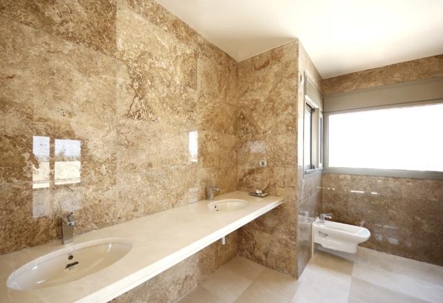 Moderne Badezimmer Fliesen Beige Interessant On Beabsichtigt Wohndesign 9