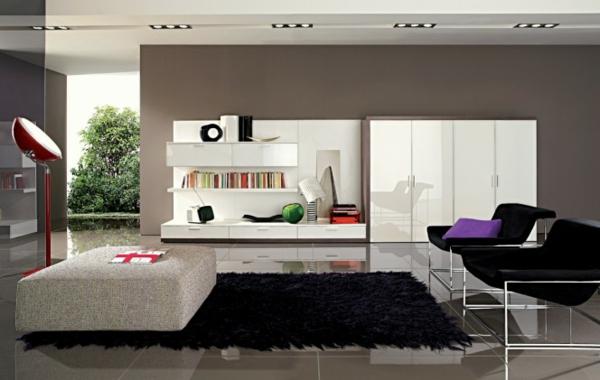 Moderne Farbe Für Wohnzimmer Bemerkenswert On Modern Mit Amocasio Com 2