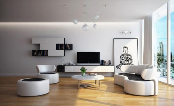 Moderne Farbe Für Wohnzimmer Imposing On Modern Innerhalb Wandfarben 40 Trendige Beispiele Archzine Net 4