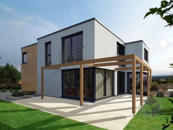 Moderne Gartenhäuser Zum Wohnen Glänzend On Modern Und F 175 10 Von FINGERHUT HAUS Cubushaus Flachdach Fertighaus De 3