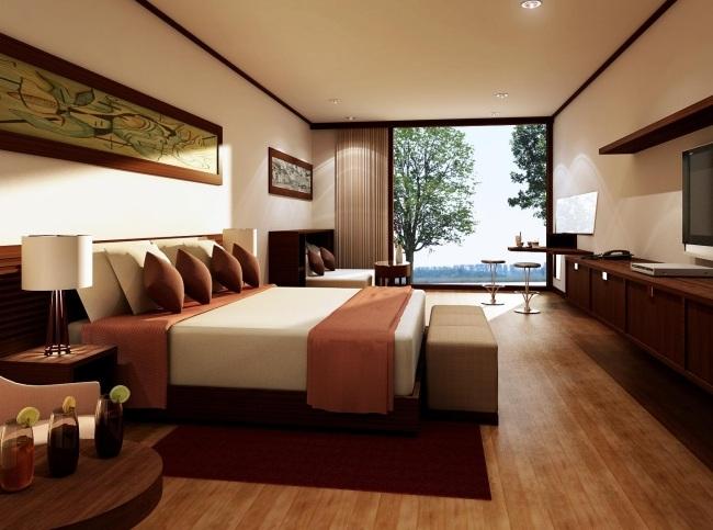 Moderne Schlafzimmer Braun Ausgezeichnet On In Cabiralan Com 1