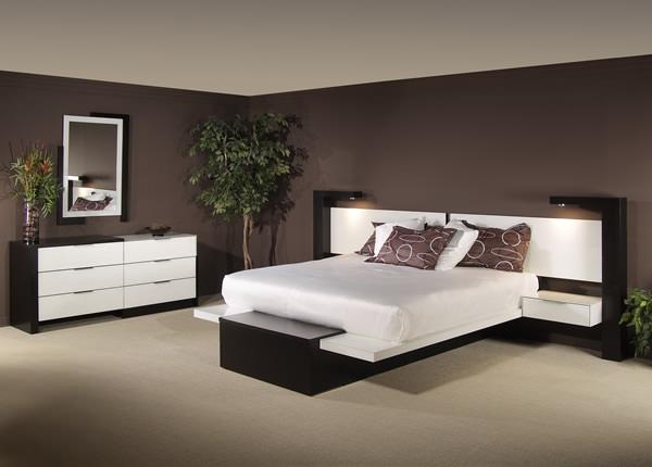 Moderne Schlafzimmer Braun Einzigartig On Mit Emejing Images House Design Ideas 9