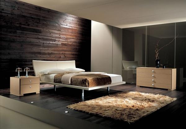 Moderne Schlafzimmer Braun Glänzend On Auf Ideen Liebenswert Wandgestaltung 8