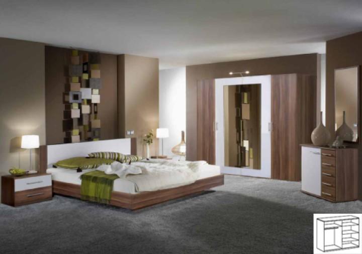 Moderne Schlafzimmer Braun Glänzend On Mit Modern Micheng Us 4