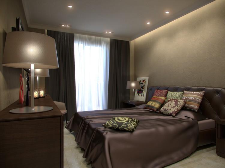 Moderne Schlafzimmer Braun Modern On Innerhalb Farben Vermittelt Luxus 6