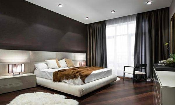 Moderne Schlafzimmer Braun Zeitgenössisch On Auf Wei Wohndesign 3