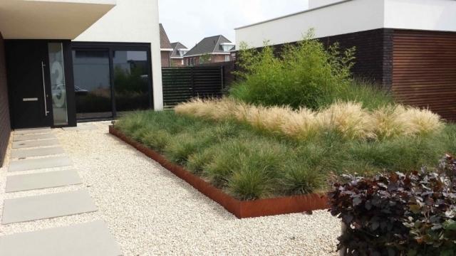 Moderner Garten Mit Gräsern Herrlich On Modern Innerhalb Moderne Gärten Gräser Grsernmoderne 1