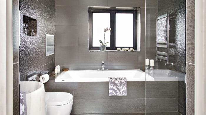 Nett On Badezimmer In Bezug Auf Fliesen Wohndesign 4