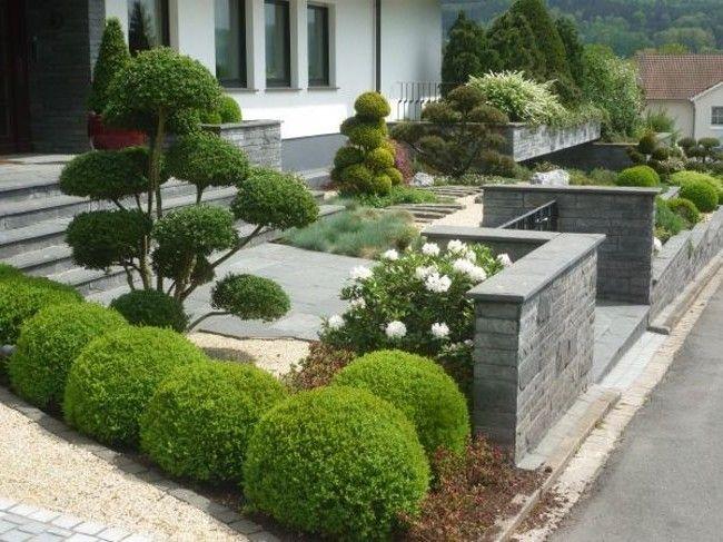 Pflegeleichter Garten Modern Kreativ On Mit Genie Auf Andere Der Vorgarten 7