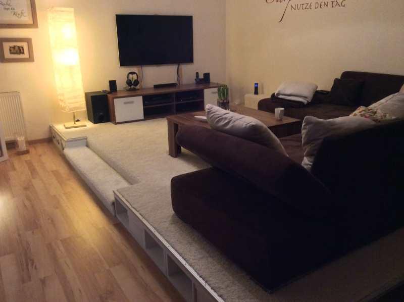 Podest Für Wohnzimmer