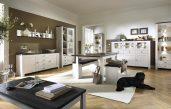 Romantische Wohnzimmer Braun