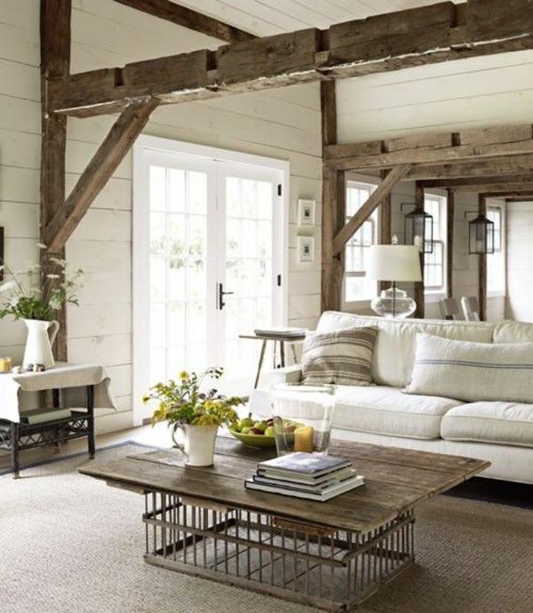 Rustikale Modern On Ideen überall Das Wohnzimmer Rustikal Einrichten Ist Der Landhausstil Angesagt 2
