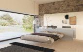 Schlafzimmer Beige Weiß Modern Design