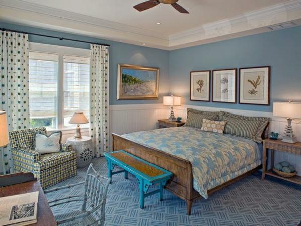 Schlafzimmer Blau Beige Wunderbar On In 1001 Ideen Farben Im 32 Gelungene 6