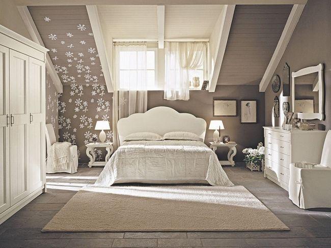 Schlafzimmer Dachschräge Grau Braun Bescheiden On Beabsichtigt Ideen Mxpweb Com 6