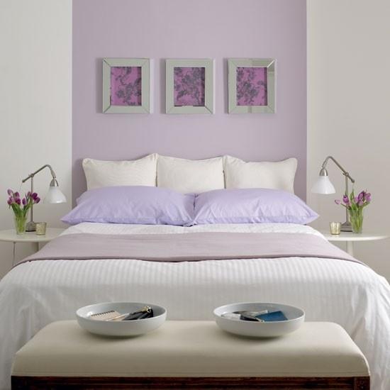 Schlafzimmer Lila Modern On Mit Gestalten 28 Ideen Für Interieur In Fliederfarbe 8