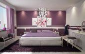Schlafzimmer Lila Streichen