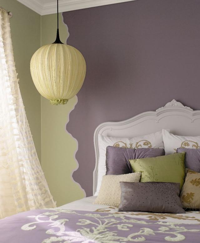 Schlafzimmer Lila Streichen Wunderbar On In Bezug Auf 105 ...