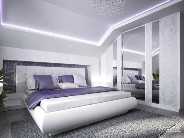 Schlafzimmer Lila Weiß Imposing On überall 105 Ideen Zur Einrichtung Und Wandgestaltung 1