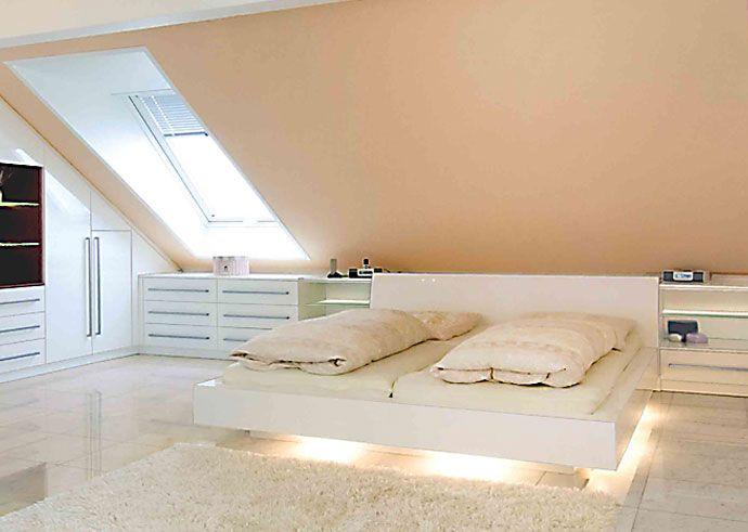 Schlafzimmer Mit Dachschräge Gestaltet Einfach On Für Die Besten 25 Dachgeschoss Ideen Auf Pinterest 6