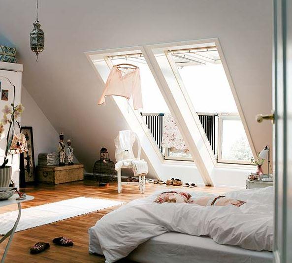 Schlafzimmer Mit Dachschräge Gestaltet Einzigartig On Für Dachschrägen Gestalten So Richtet Ihr Euer Perfekt Ein 5