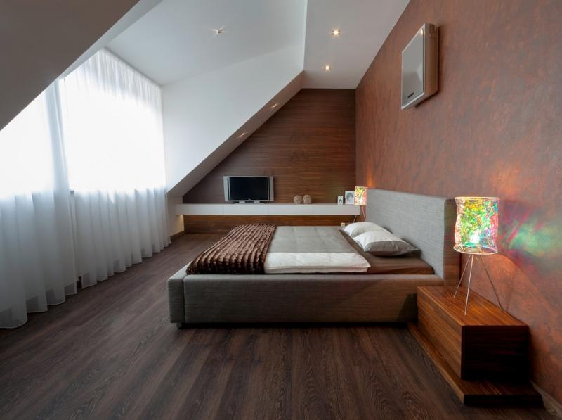 Schlafzimmer Mit Dachschräge Gestaltet Exquisit On In Bezug Auf Gestalten 23 Wohnideen 1