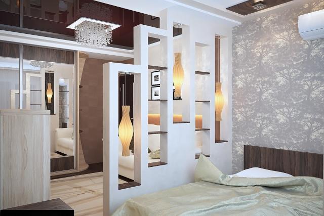 Schlafzimmer Mit Raumteiler Bemerkenswert On Und Für 31 Ideen Zur Abgrenzung 2