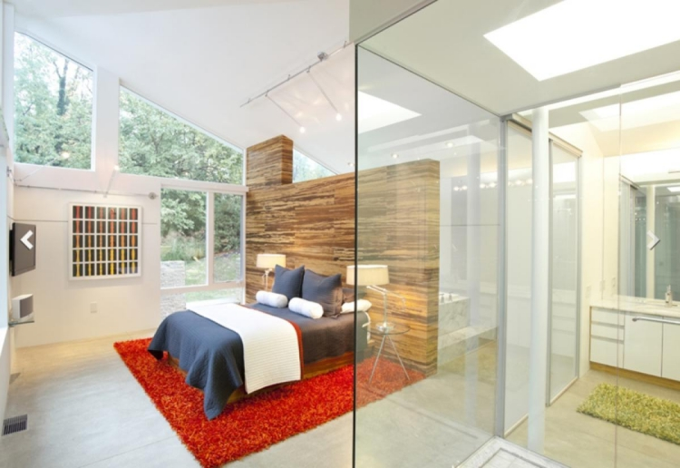 Schlafzimmer Mit Raumteiler Glänzend On In Bezug Auf Für 31 Ideen Zur Abgrenzung 1