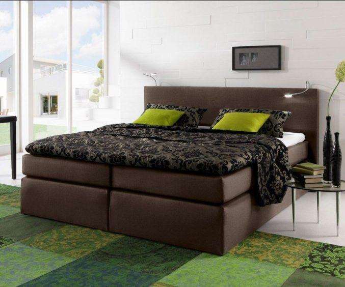 Schlafzimmer Modern Braun Boxspringbett Einzigartig On überall Uncategorized Geräumiges 5