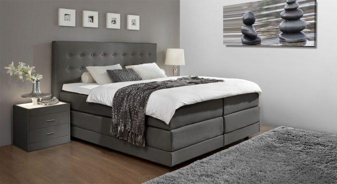 Schlafzimmer Modern Braun Boxspringbett Unglaublich On Innerhalb Uncategorized Ehrfürchtiges 3