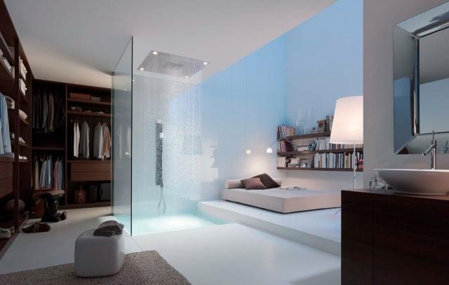 Schlafzimmer Modern Mit Badezimmer Einzigartig On Auf Bad Dusche Gestalten 31 Ausgefallene Ideen 2