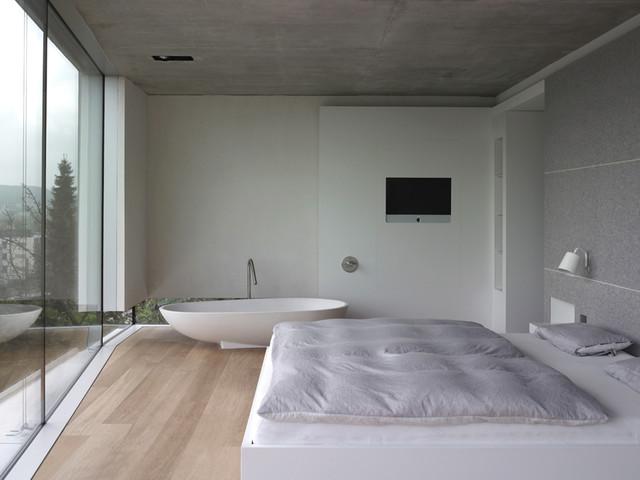 Schlafzimmer Modern Mit Badezimmer Imposing On Innerhalb Edgetags Info 4