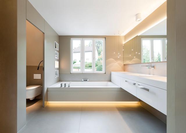 Schlafzimmer Modern Mit Badezimmer Perfekt On Für Arkimco Com 9