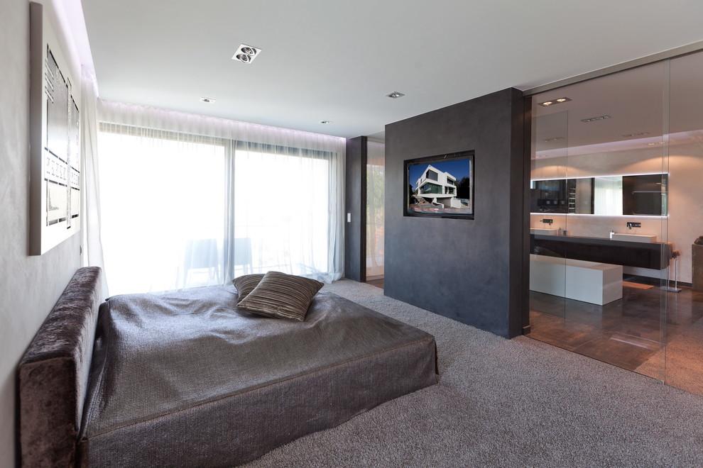 Schlafzimmer Modern Mit Badezimmer