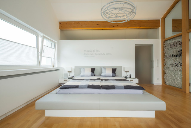 Schlafzimmer Modern Mit Badezimmer Zeitgenössisch On In Schlafraum Ankleide Und 7