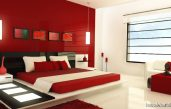 Schlafzimmer Modern Rot