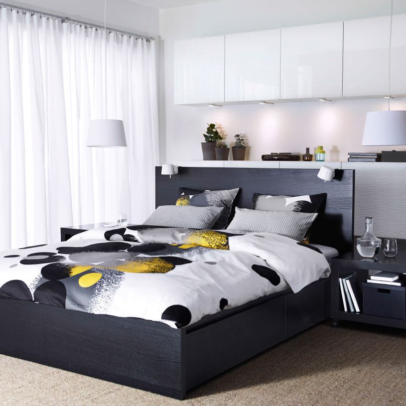 Schlafzimmer Schwarzbraun Ikea Ausgezeichnet On Braun Auf Gestalten Tipps Tricks IKEA AT 2