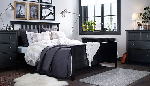 Schlafzimmer Schwarzbraun Ikea