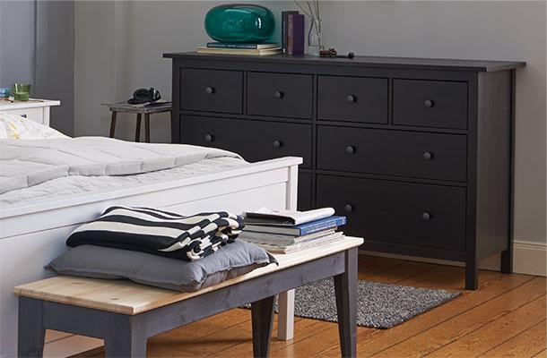 Schlafzimmer Schwarzbraun Ikea Einfach On Braun Innerhalb Design Und IKEA 6