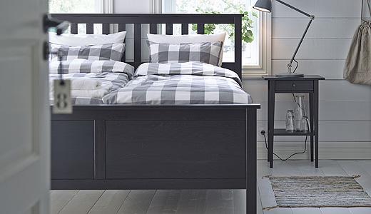 Schlafzimmer Schwarzbraun Ikea Fein On Braun In Bezug Auf HEMNES IKEA 9