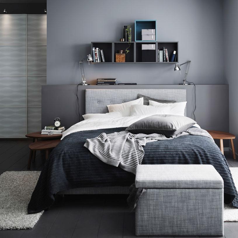 Schlafzimmer Schwarzbraun Ikea Glänzend On Braun Beabsichtigt Räume Mit Stil IKEA 3