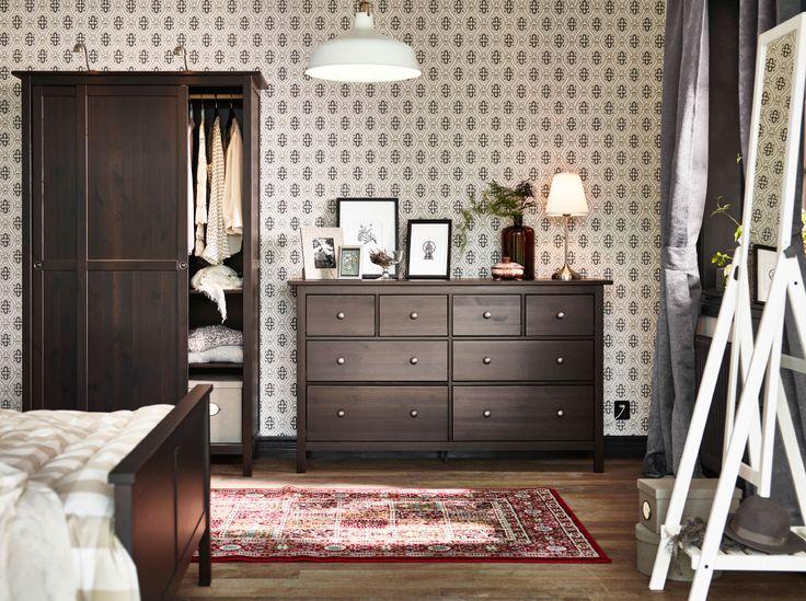 Schlafzimmer Schwarzbraun Ikea Unglaublich On Braun Auf Die Besten 25 Hemnes Kleiderschrank Ideen Pinterest 5