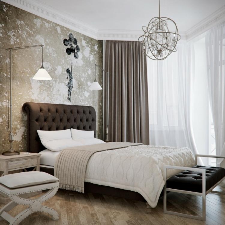 Schlafzimmer Wände Streichen Ideen Modern On Auf 37 Wand Zum Selbermachen 7