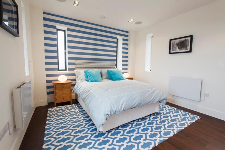 Schlafzimmer Wände Streichen Ideen Stilvoll On Beabsichtigt 65 Wand Muster Streifen Und Struktureffekte 6