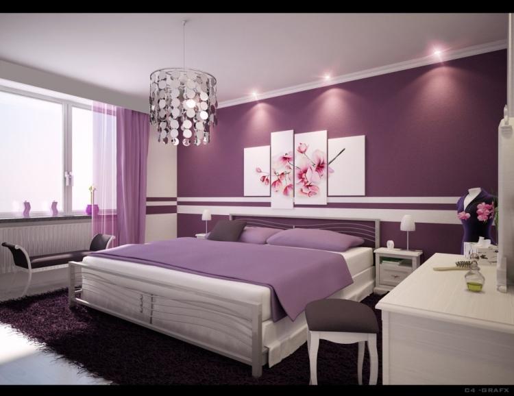 Schlafzimmer Wände Streichen Ideen