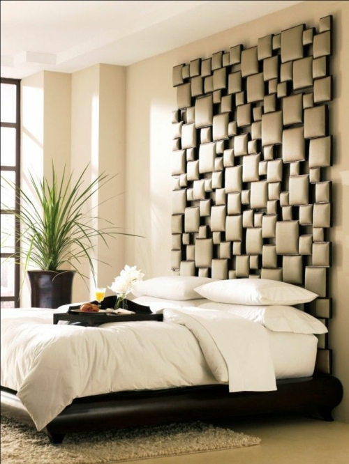 Schlafzimmer Wandgestaltung Beispiele Beeindruckend On In Kreative Ideen Als Inspiration 3