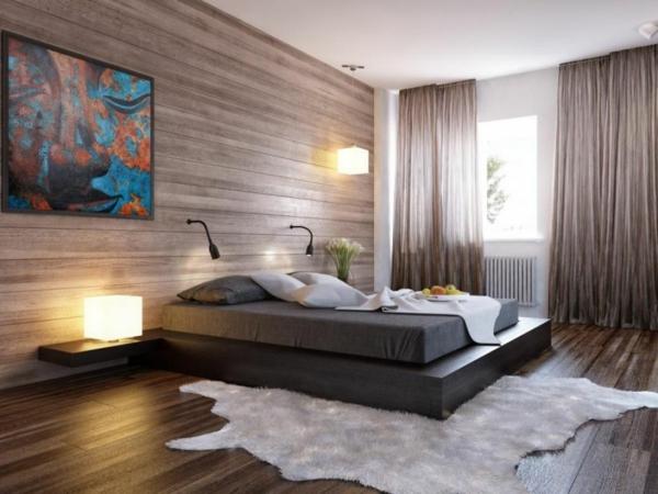 Schlafzimmer Wandgestaltung Beispiele Bemerkenswert On Auf Ideen Alaiyff Info 7
