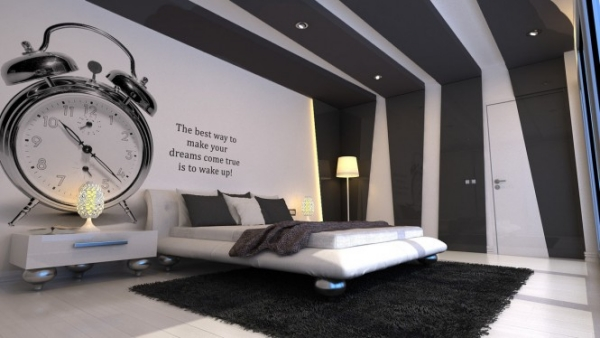 Schlafzimmer Wandgestaltung Beispiele Charmant On überall 40 Coole Ideen Für Effektvolle 1