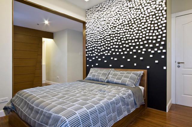 Schlafzimmer Wandgestaltung Beispiele Großartig On Mit Schwarze Wände 48 Wohnideen Für Moderne Raumgestaltung FresHouse 8